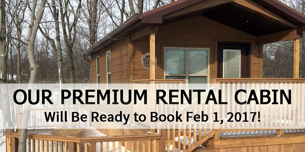 Premium Rental Cabin Campers Cove Campground Ontario